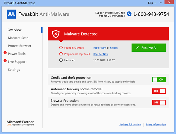 Resultado de imagen para TweakBit Anti-Malware
