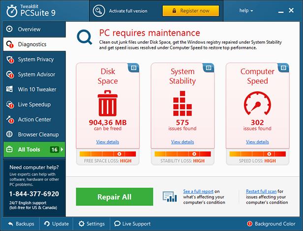 TweakBit PCSuite 10.0.20.0 + Portable Windows Optimizer